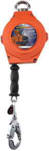 Cable hybrid self-retracting lanyards (SRLs) are dual ANSI Class A and Class B and provide 20 or 30 feet of lanyard length with galvanized wire rope, making these SRLs both strong and lightweight.