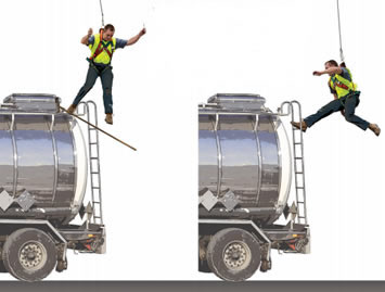With the Anchor Trolley auto-brake, users are more likely to be closer to the working surface, enabling self-rescue.