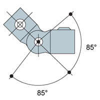 "Pipe Kee Klamp C50-77 Single Swivel Socket fits 1-1//4/"" I.D"