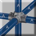 type 40 four socket cross