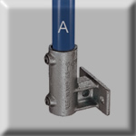 type 65 standard horizontal railing base