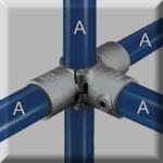 type a35 split 3 socket cross