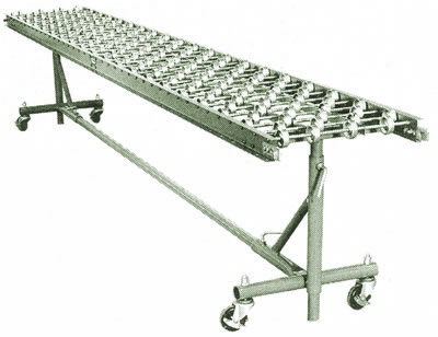 Conveyor Accessories, Portable Castered Support