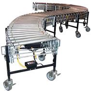power flex power roller conveyor w/1.5 in roller