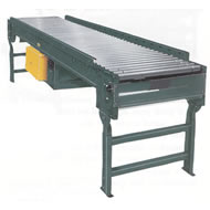 model abez accumulating liver roller conveyor