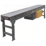 accumulating horizontal power conveyor