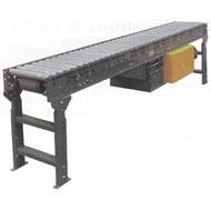 accumulating horizontal power conveyor