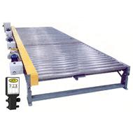 model 25-crezd heay duty accumulating conveyor