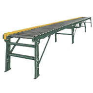 model 25-crr chain driven live roller conveyor