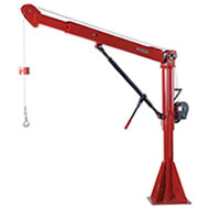Captain Series 5FT20 and 5FT25 Stationary Davit Cranes - Up to 2,800 lb Capacity