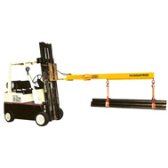 model eb fork lift booms fixed