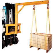model fcj fork lift booms carriage jib