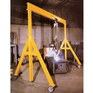 a series adjustable height steel gantry cranes