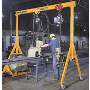 portable hoist crane. steel gantry cranes (1 to 10 ton) portable hoist crane
