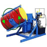 tilt to load rotator