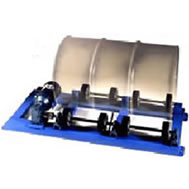 stationary drum rotators