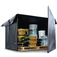 hot box material warming