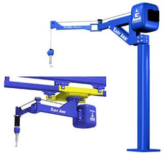 Easy Arm Intelligent Lifting Arm G Force Jib Cranes