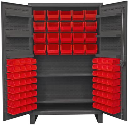 Heavy Duty All Welded Bin Cabinets, Plastic Bin Welded Cabinet, Bin Storage  Cabinet, Security Cabinet With Bins, Plastic Bin