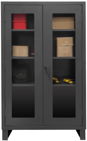 Heavy Duty Clearview Lockable Storage