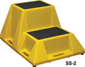 Industrial Step Stands Safety Step Stand Polyethylene