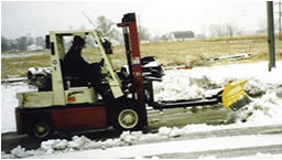 fork mounted snow plow blades