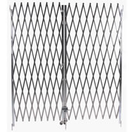 heavy duty steel folding gates pairs