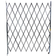 heavy duty steel single folding gates