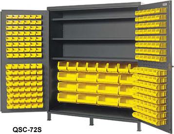 Heavy Duty All Welded Bin Cabinets