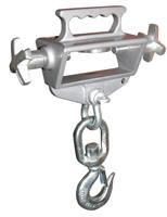 hoisting hook single fork
