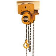 nth low headroom trolley hoist