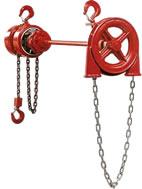 zephyr extended handwheel hoists
