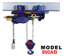 I Beam Electric Winch Hoist Electric Wire Rope Hoists