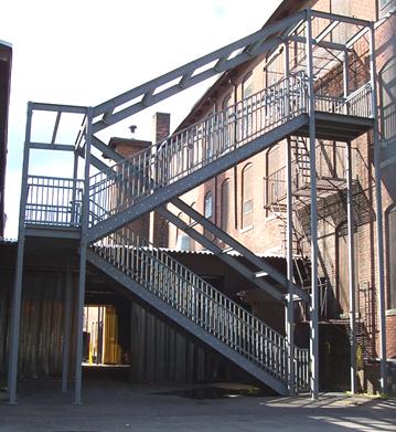 Ibc Prefab Steel Stairways