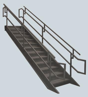 Industrial Institutional Ibc Stairs Ibc Prefab Steel