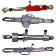 hydraulic and mechanical pulling jacks