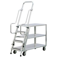 aluminum ladder carts