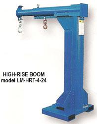 high rise boom