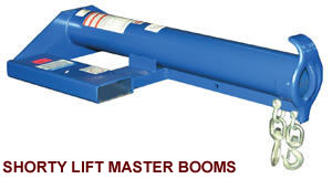shorty lift master booms