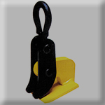 model ch & hh heavy duty horizontal plate clamps
