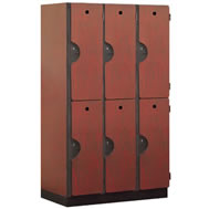 extra wide designer lockers
