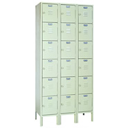 multiple tier lockers