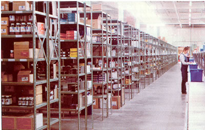 8000 series open shelving