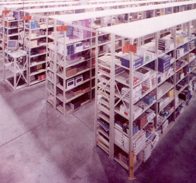 36 inch open shelving sections