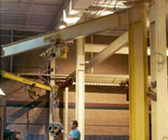 mast type jib cranes advantage