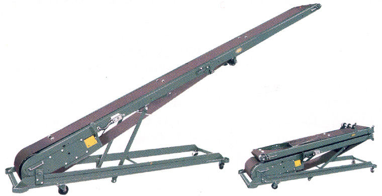 Portable Folding Cleated Conveyor Belt Conveyors