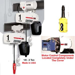 coffing electric chain hoists jlc hook and lug suspension. Black Bedroom Furniture Sets. Home Design Ideas