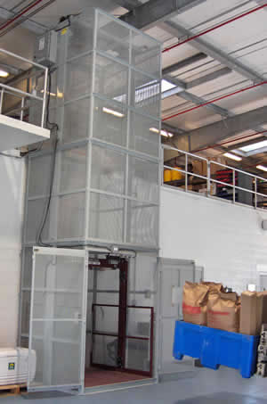 Modular Vertical Lifts Mezzanine Lift Custom Industrial