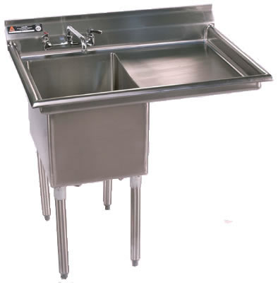 One Compartment, Sinks, NSF Sinks, Stainless Steel Sink, Utility Sinks