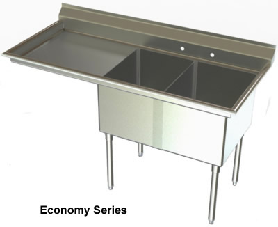 ... Compartments, Sinks, NSF Sinks, Stainless Steel Sink, Utility Sinks